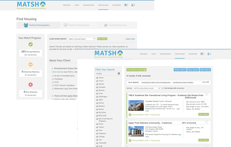 Matsh screenshot 1