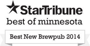Star Tribune - Best New Brewpub 2014
