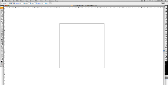 Blank Illustrator Document