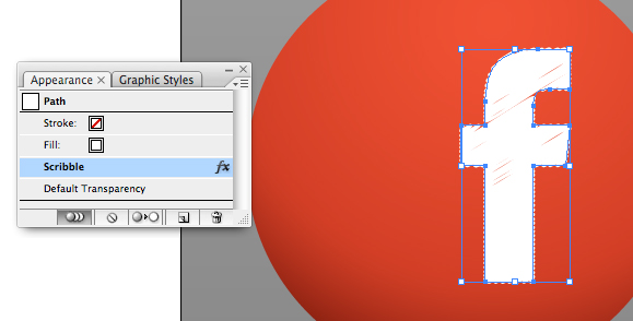 Adobe Illustrator scribble effect